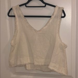 Urban outfitters flowy crop